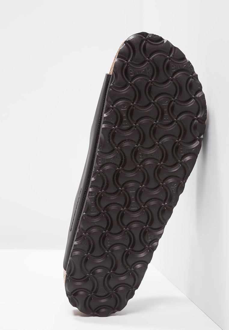 Lo mas barato Birkenstock ARIZONA SOFT FOOTBED NARROW FIT - Sandalias planas - black | Zapatillas de hombre 2020 YzTcJ