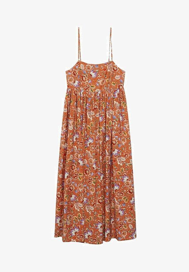 CECI - Day dress - oranje