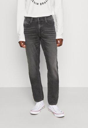OREGON - Straight leg jeans - denim black