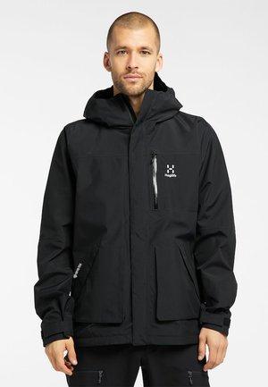 VIDE GTX JACKET  - Hardshell jacket - true black
