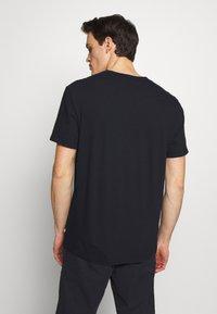 James Perse - CREW - Basic T-shirt - dark blue - 2