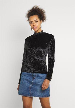 TURTLE - Long sleeved top - black