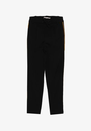 KONPOPTRASH SNAKE PANEL PANT - Tracksuit bottoms - black/orange