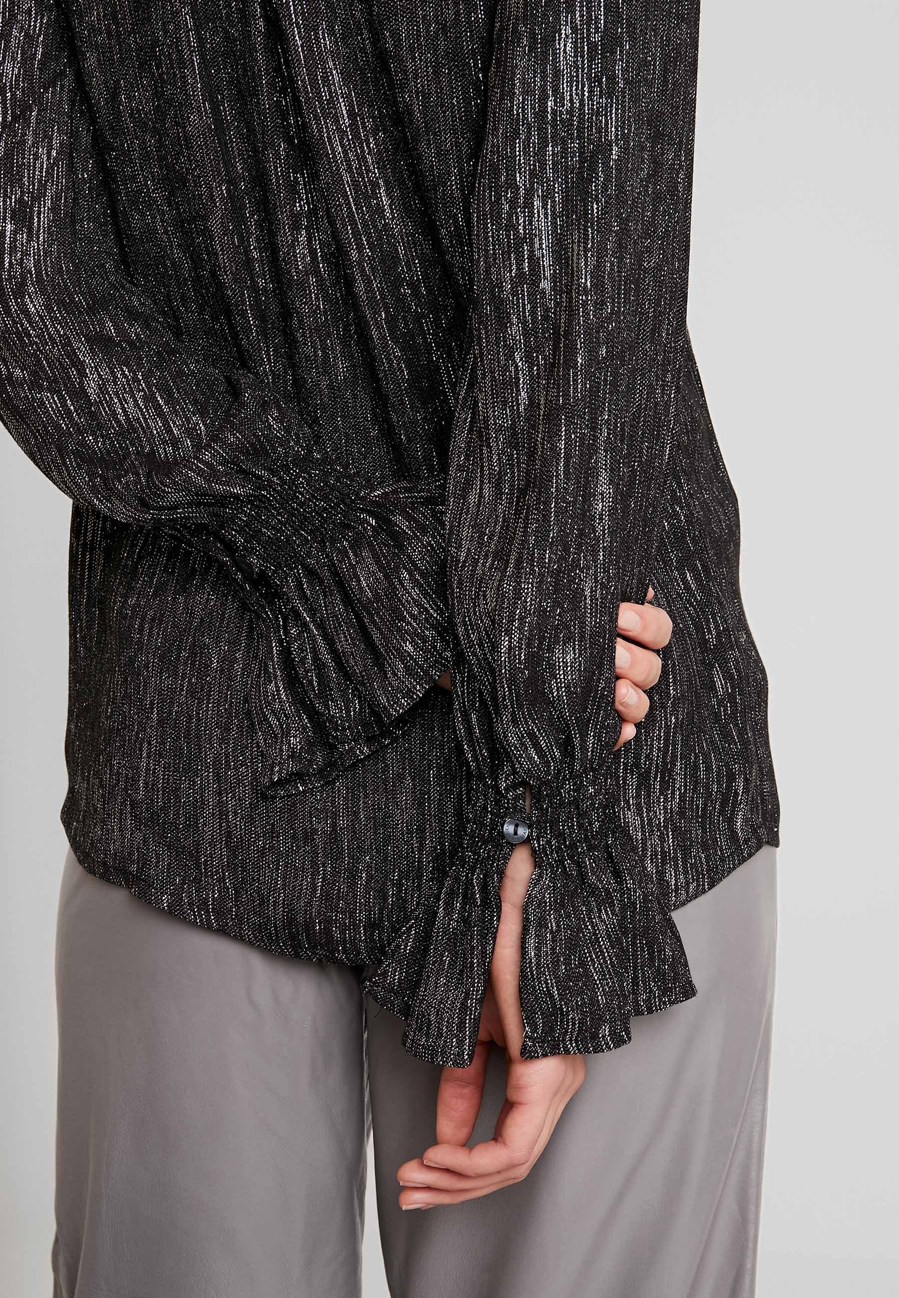 Fabienne Chapot SUNSET BLOUSE Bluser blackgold Zalando.no