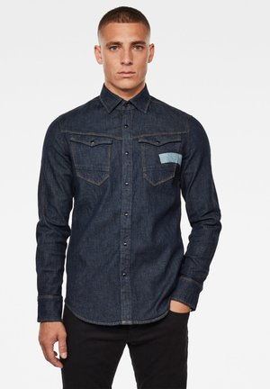 ARC 3D-AW SLIM LONG SLEEVE - Camicia - rinsed
