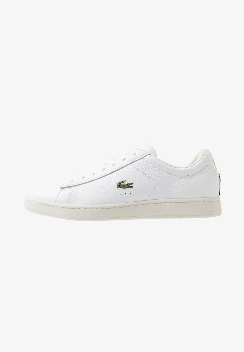 Lacoste - CARNABY EVO - Sneakers - white/black