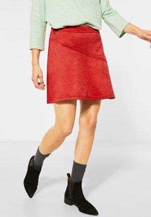 ROCK - A-line skirt - rot