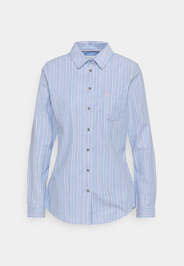 CAMISA OXFORD  - Button-down blouse - light blue