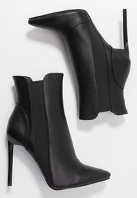 BEBO - AXELLE - High heeled ankle boots - black - 3