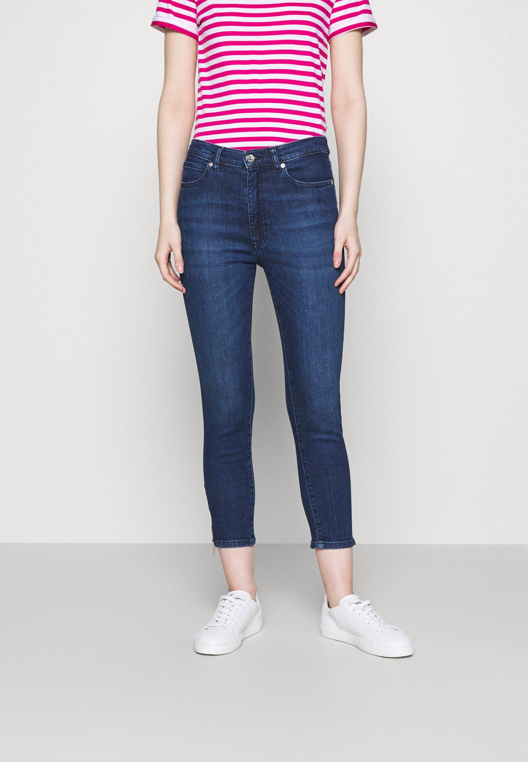 Damen LOU CROPPED - Jeans Skinny Fit