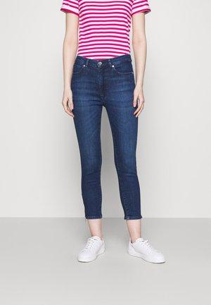 LOU CROPPED - Skinny džíny - medium blue