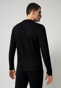 Napapijri - S-ICE LS - Långärmad tröja - black - 1