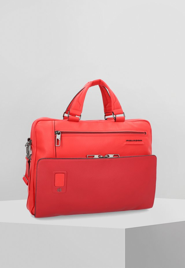 AKRON  - Briefcase - red