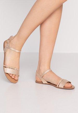Sandals - rose gold