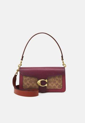 SIGNATURE TABBY SHOULDER - Handbag - tan/multi