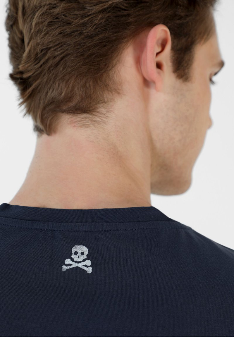 Scalpers T-Shirt print - navy/dunkelblau 9Bepqx
