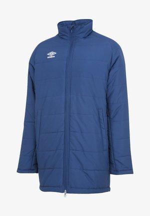 FOOTBALL - Winter coat - blau