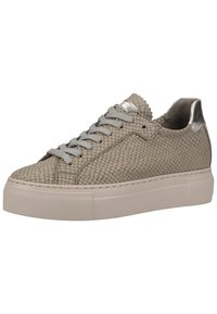 MAHONY - Trainers - light grey snake - 1