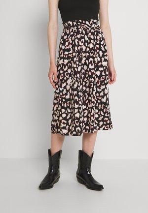 PCFALISHI SKIRT - A-line skirt - black
