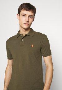 Polo Ralph Lauren - SLIM FIT MESH POLO SHIRT - Polo shirt - defender green - 4