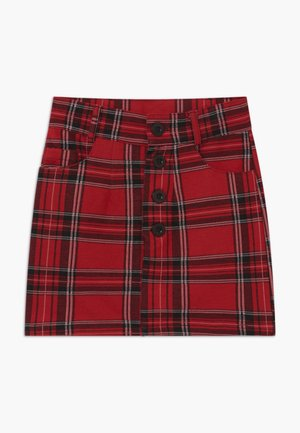 GIRLS - Mini skirt - granatrot