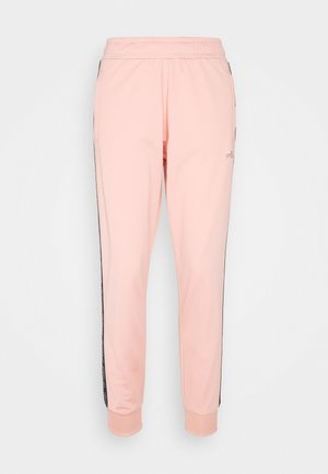 JACOBA TAPED TRACK PANTS - Pantaloni sportivi - coral cloud