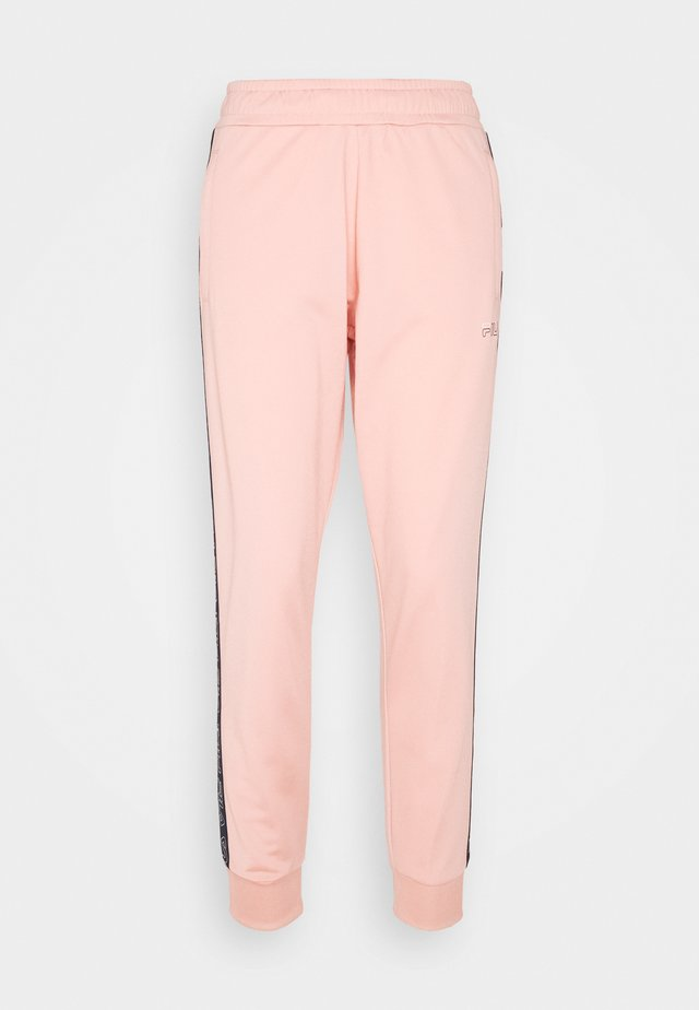 JACOBA TAPED TRACK PANTS - Pantalon de survêtement - coral cloud