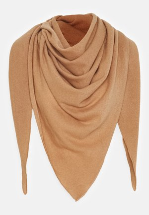 TRIANGLE SCARF - Skjerf - camel