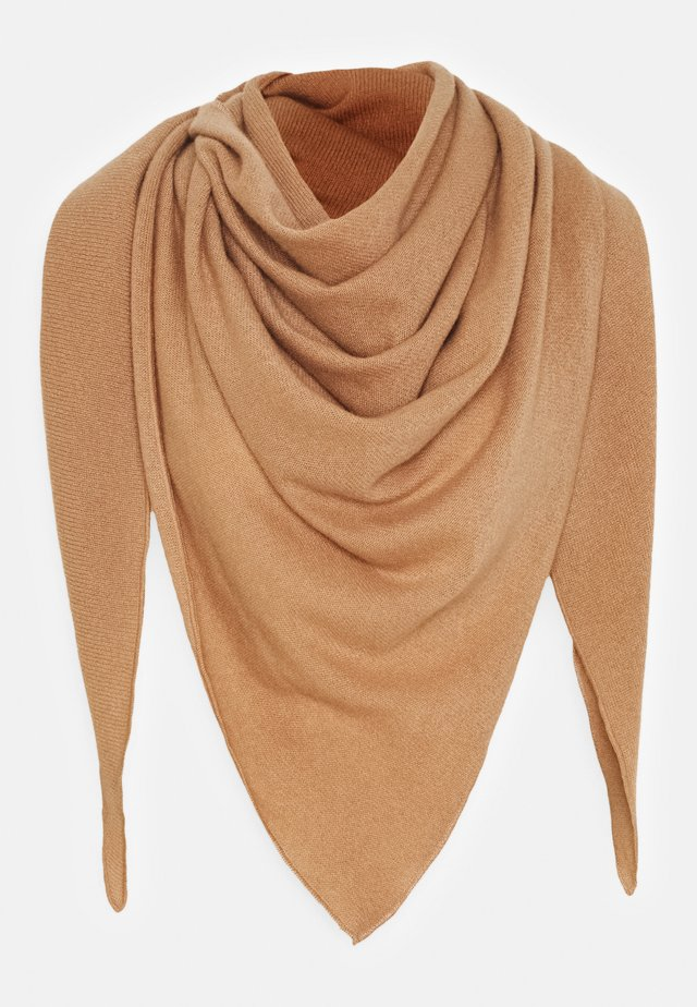 TRIANGLE SCARF - Foulard - camel