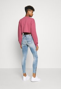 Tommy Jeans - NORA ANKLE ZIP - Jeans Skinny - light-blue denim - 2