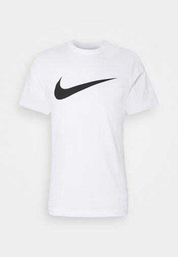 TEE ICON - Printtipaita - white/(black)