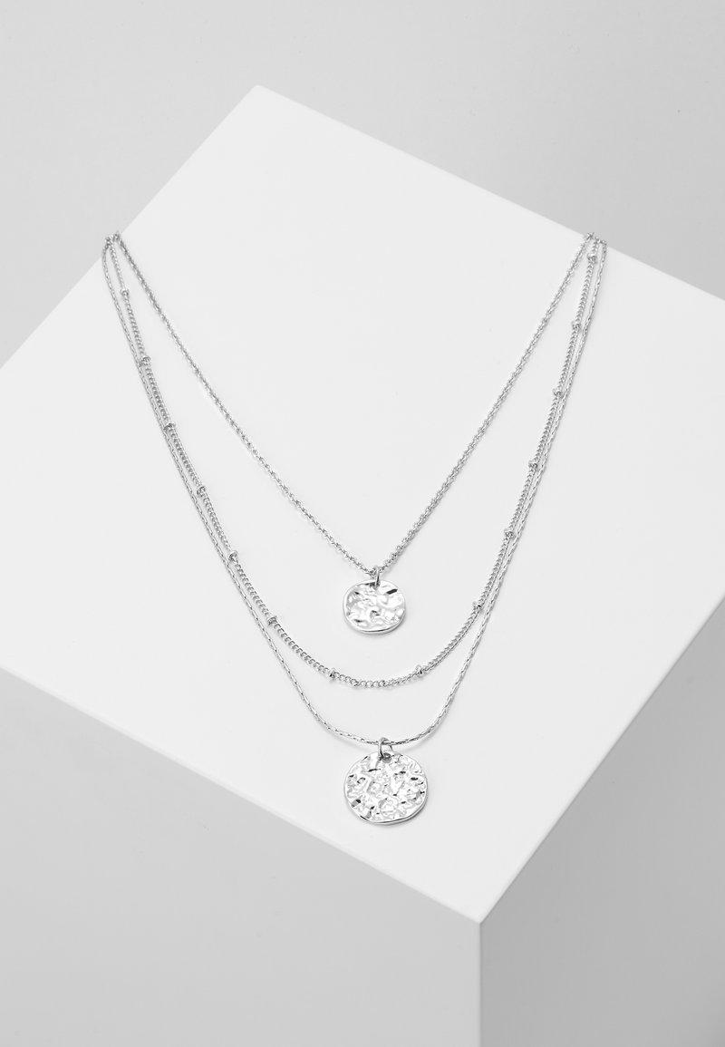 Pieces - PCZENDIA COMBI NECKLACE KEY - Necklace - silver-coloured