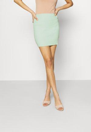 MAYA SKINNY MINI SKIRT - Mini skirt - mint
