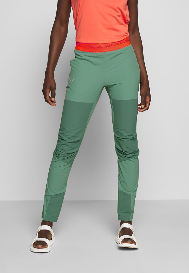 AGNER LIGHT ENGINEER - Spodnie materiałowe - feldspar green