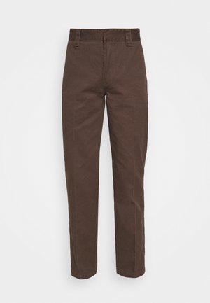 DOT WORKPANT - Pantalon classique - chocolate
