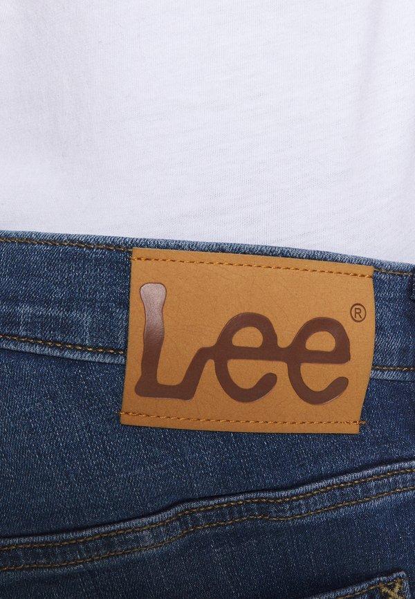Lee DAREN ZIP FLY - Jeansy Straight Leg - mid visual cody/niebieski denim Odzież Męska HMFQ