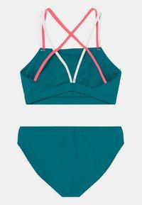 Abercrombie & Fitch - TWIST FRONT SET - Bikini - ocean blue - 1