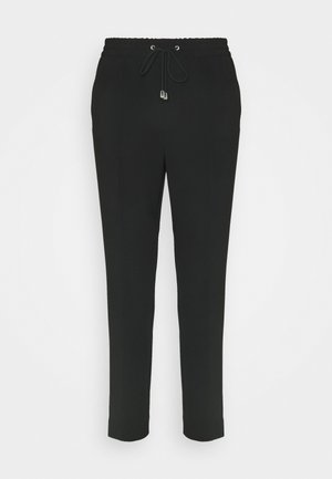 FIONA DRAPEY TROUSER - Trousers - black