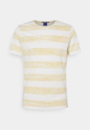 JORSUNNY STRIPE TEE CREW NECK - Print T-shirt - sahara sun