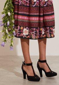 Odd Molly - REBECCA - A-line skirt - almost black - 4