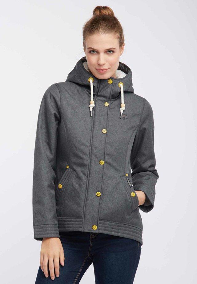 Regnjakke / vandafvisende jakker - mottled grey