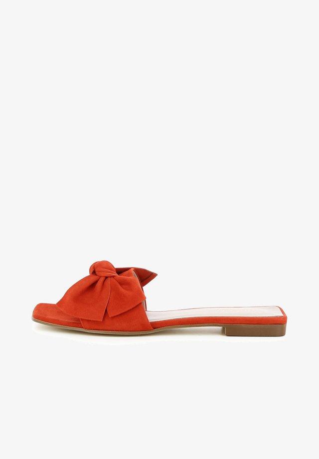 Ciabattine - arancio
