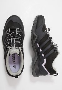 adidas Performance - TERREX SWIFT R2 GORE-TEX - Hiking shoes - core black/solid grey/purple tint - 1