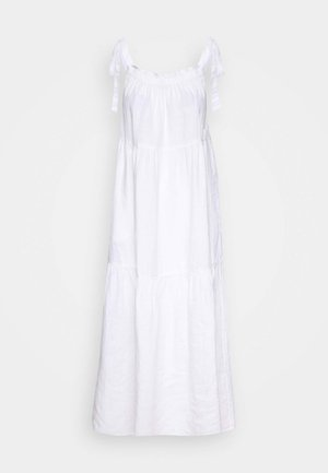 DRESS HIGH SUMMER STYLE SHOULDER STRAPS - Maxi dress - white