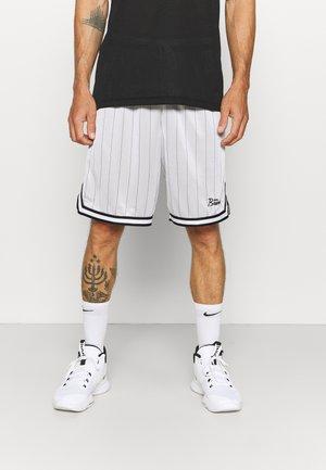 DNA SHORT - Pantalón corto de deporte - white/black