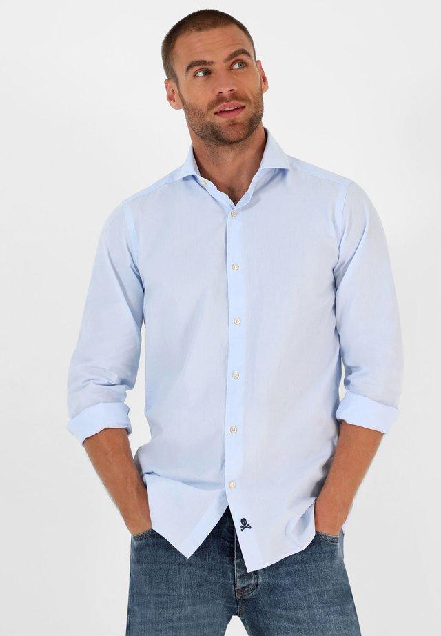 Overhemd - skyblue stripes