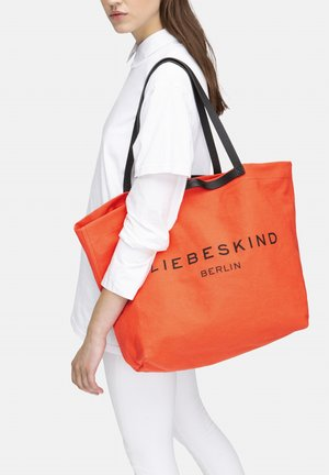 AURORA SHOPPER L SHOPPER AUS CANVAS - Tote bag - pumpkin