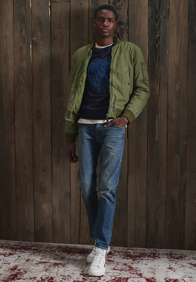 Superdry - Bomber Jacket - army green