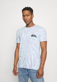 Quiksilver - SLOW LIGHT - T-shirt con stampa - blue tint - 2