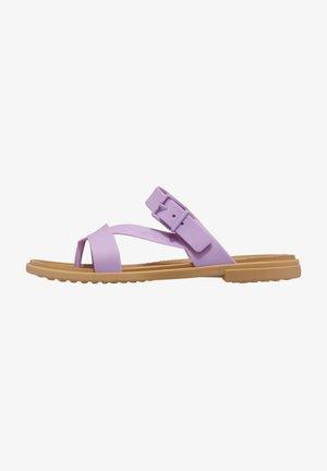 T-bar sandals - lila